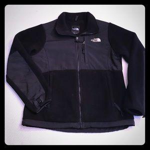 Women's North Face Black Denali Jacket, Size S